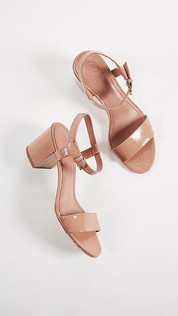 Tory Burch Laurel 65mm Ankle Strap Sandals