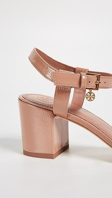 57c73810f980 ... Tory Burch Laurel 65mm Ankle Strap Sandals ...