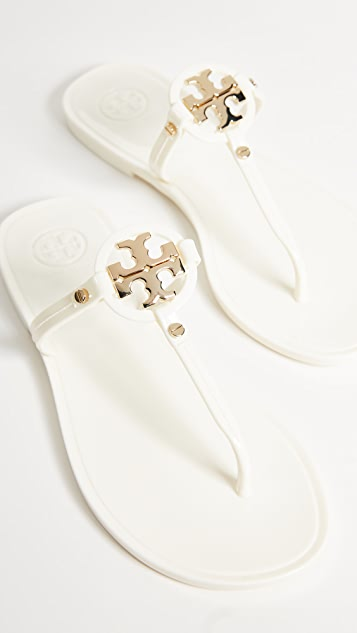 Tory Burch Mini Miller Flip Flops