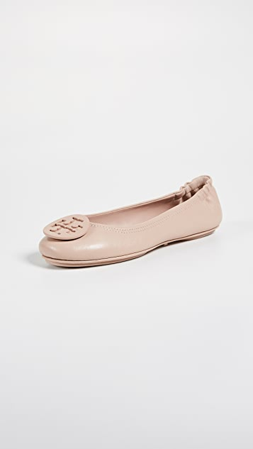 2210c2dba Tory Burch Minnie Travel Ballet Flats ...