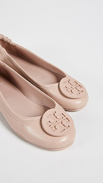 ... Tory Burch Minnie Travel Ballet Flats ...