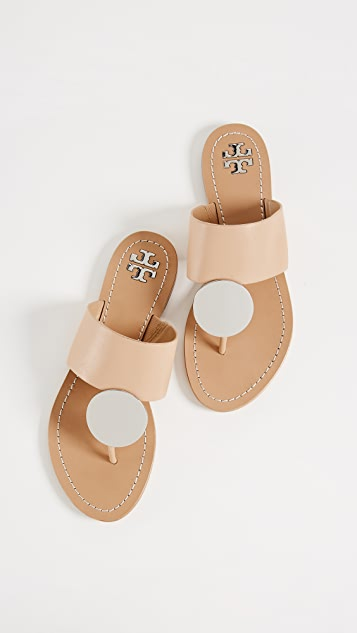 996820430b6 Tory Burch Patos Disk Sandals