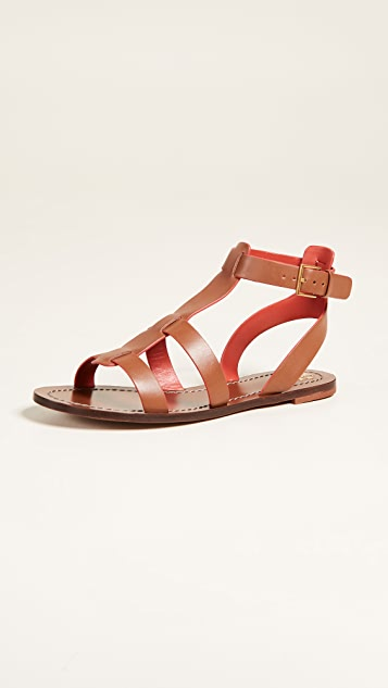 Tory Burch Patos Gladiator Sandals