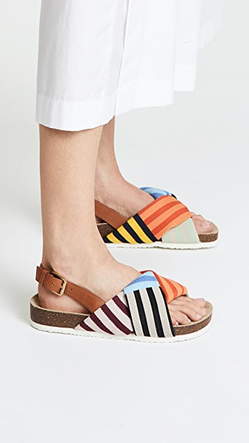 Tory Burch Corey Platform Sandals
