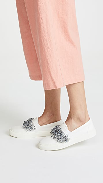 Tory Burch Logan Slip On Sneakers
