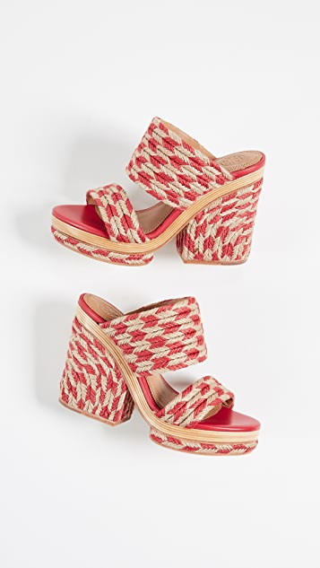 Tory Burch Lola 100mm Sandals