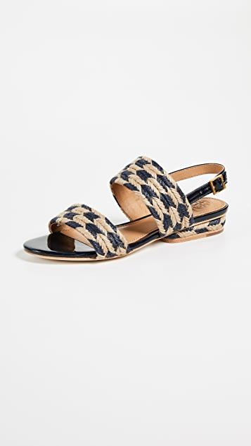 Tory Burch Lola Flat Sandals