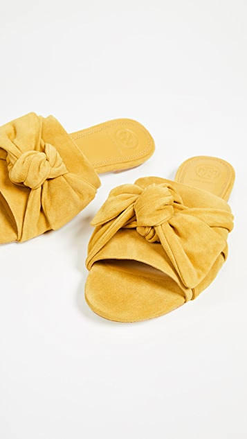 Tory Burch Annabelle Bow Slides