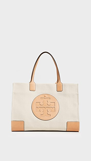 56d355f5874 Tory Burch Ella Canvas Tote ...
