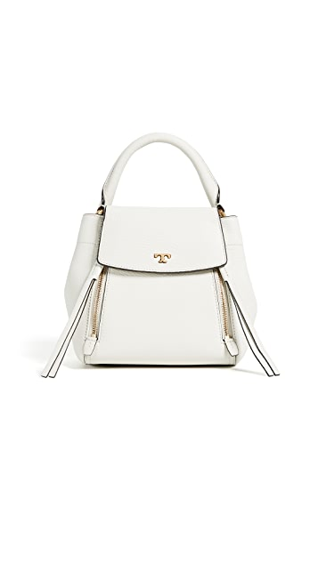 Tory Burch Half Moon Cross Body Satchel