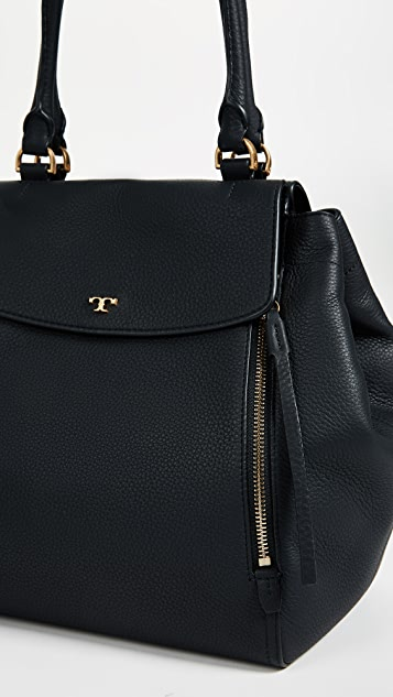 Tory Burch Half Moon Tote