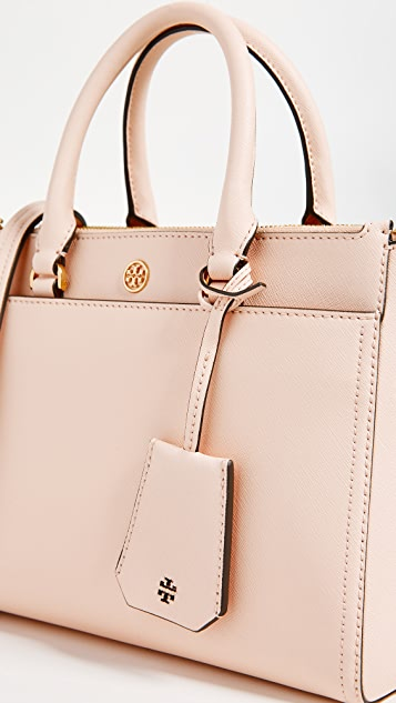 Tory Burch Robinson Small Double Zip Tote