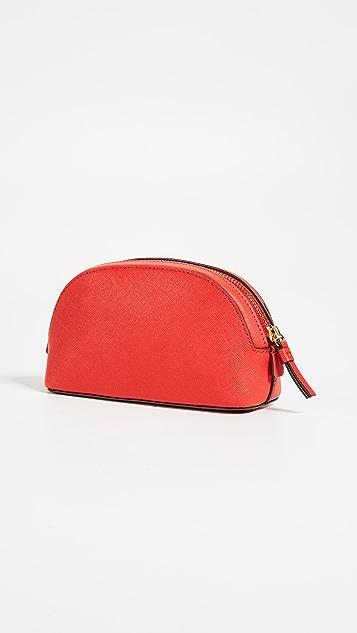 Tory Burch Robinson Small Makeup Bag