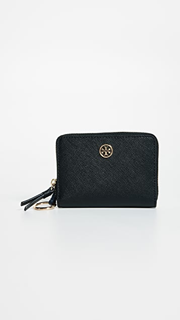 9e55f10ea53a Tory Burch Robinson Zip Coin Case ...