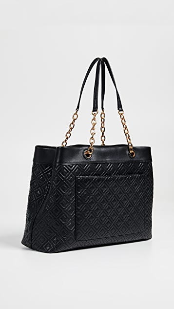 Tory Burch Flemming Triple Compartment Tote