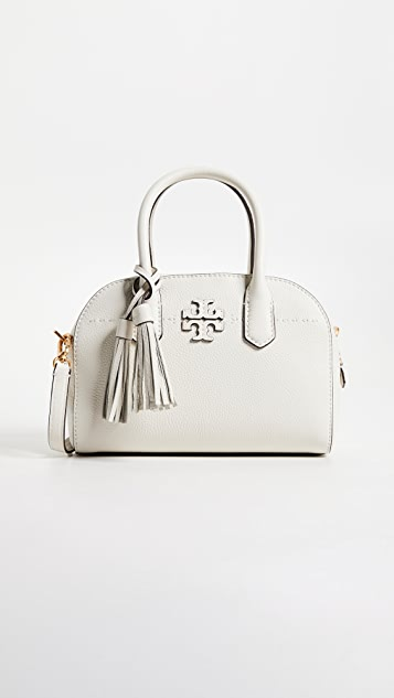 Tory Burch McGraw Small Satchel - New Ivory