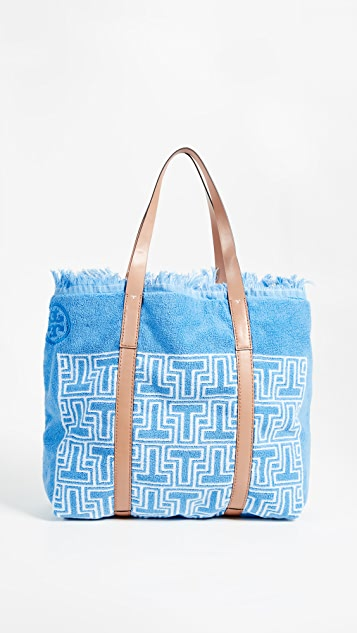 6f7c9063de9 Tory Burch Towel T Tote Bag