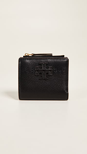 McGraw mini foldable wallet - Black Tory Burch K3oIbEiwk