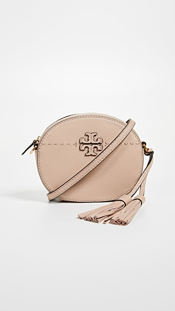 Tory Burch Mcgraw Round Cross Body Bag ...