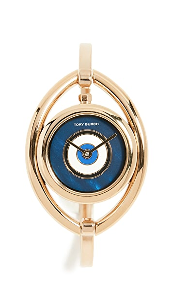 Tory Burch The Evil Eye Bangle Watch, 24mm