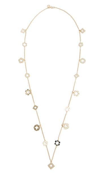 Tory Burch Geo Long Necklace