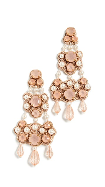Tory Burch Beaded Chandelier Earring | SHOPBOP