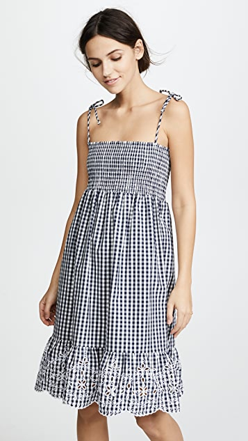 685e0e0183 Tory Burch Gingham Beach Dress ...