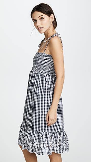 Tory Burch Gingham Beach Dress