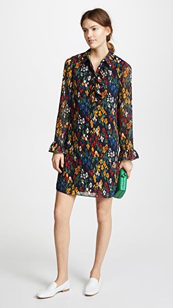 Tory Burch Livia Dress - Tory Navy/Iris Garden