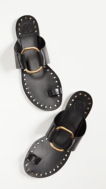 Tory Burch Brannan Toe Ring Sandals