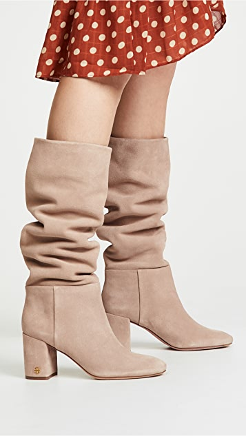 Tory Burch Brooke Slouchy 75mm Boots