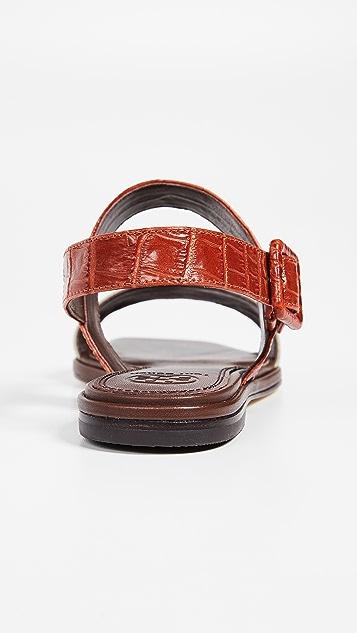 Tory Burch Delaney Flat Sandals