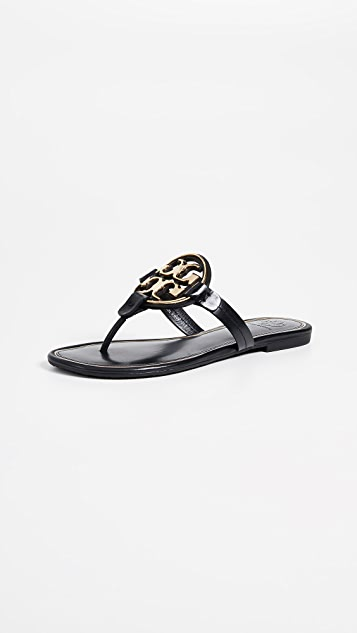 Tory Burch Miller Metal Thong Sandals