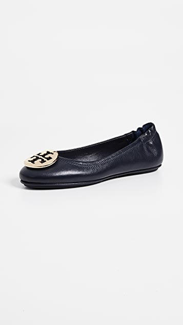 80ee05cc65a2e Tory Burch Minnie Travel Ballet Flats