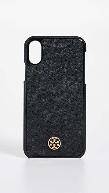 Tory Burch Robinson Hardshell iPhone X Case