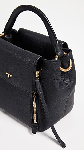 Tory Burch Half-Moon Cross Body Bag