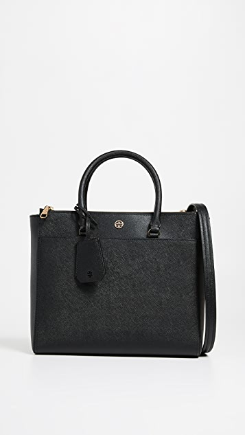 Tory Burch Robinson Double Zip Tote Bag