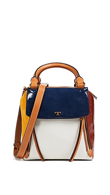 Tory Burch Half Moon Satchel