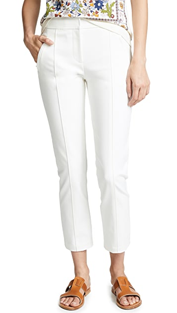 Tory Burch Cropped Vanner Pants