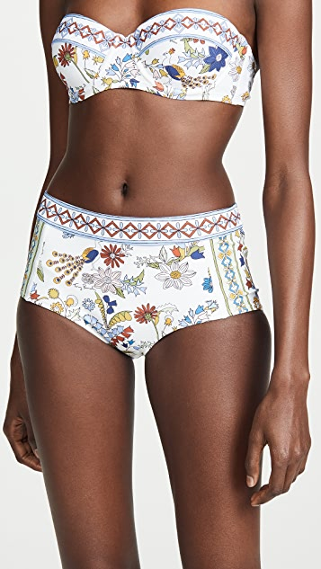 Tory Burch Meadow Folly Bikini Bottoms