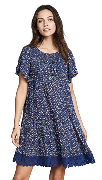Tory Burch Wild Pansy Dress
