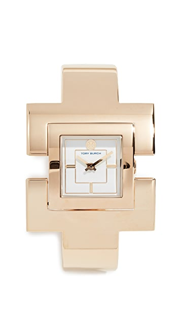 Tory Burch The T Bangle Watch, 38mm