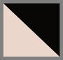ракушечный розовый/идеальный черный
