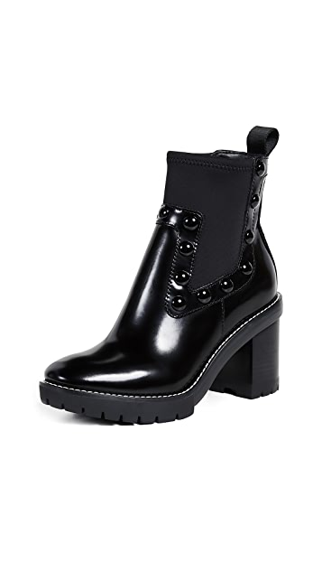 Tory Burch Preston Chelsea Stud Booties