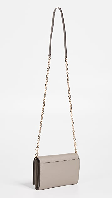 Tory Burch Robinson Chain Wallet Bag