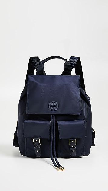 26e9a72f1a3 Tory Burch Tilda Nylon Flap Backpack