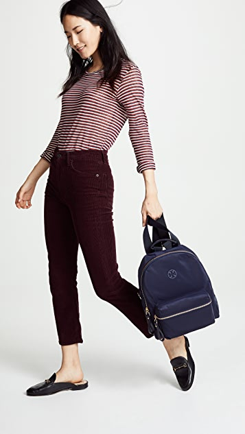Tory Burch Tilda Nylon Zip Backpack