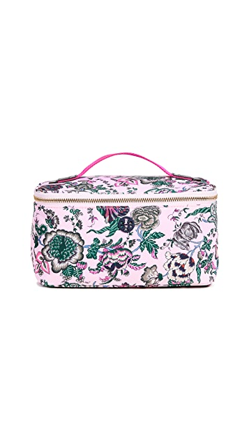 Tory Burch Tilda Printed Nylon Travel Cosmetic Case