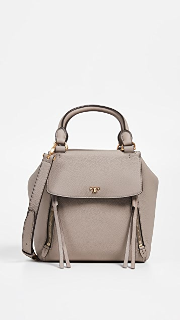 9971ffad4e54f Tory Burch Half Moon Satchel
