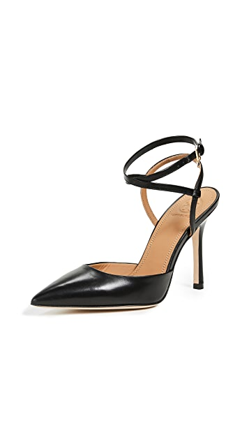 Tory Burch Penelope 100mm Ankle Strap Pumps